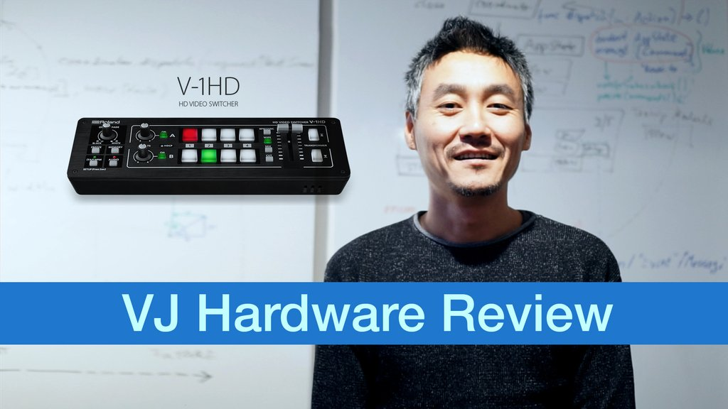 v-1hd vjfader video review